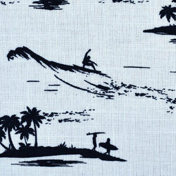 Cotton Beach Print Woven Fabric