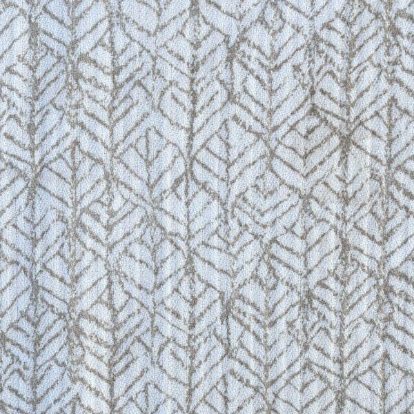Cotton Herring Bone Hightwist Print Fabric
