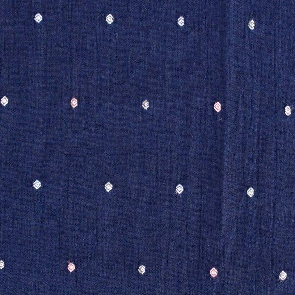CottonPoly Clip Dot Dobby Hightwist Fabric