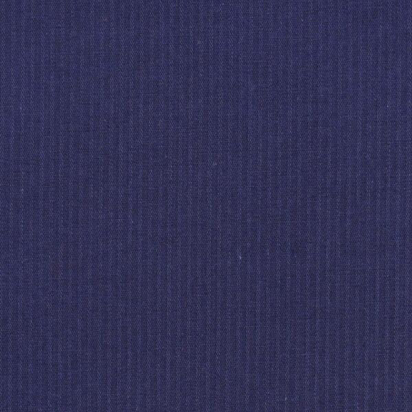 Cotton Navy Reverse Twill Fabric