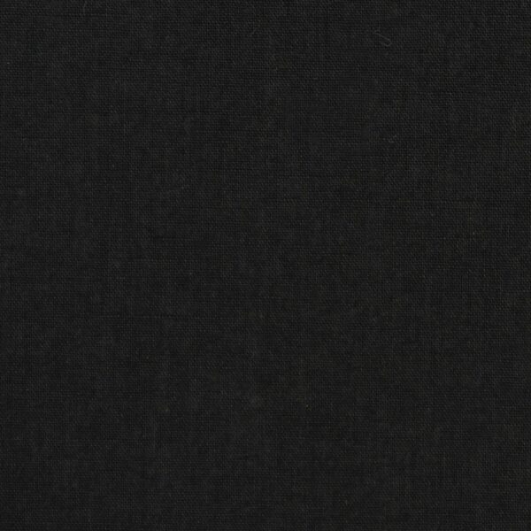 Cotton Black Color Dyed Fabric