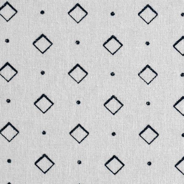 Cotton Geometrical Print Woven Fabric