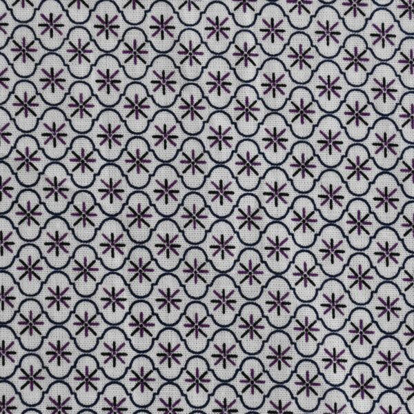 Cotton Pink Color All Over Print Fabric