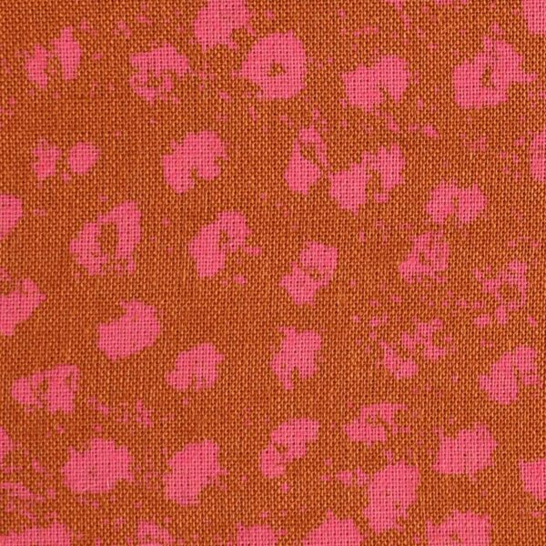 Modal Pink Dot Print Fabric