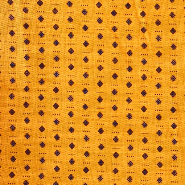 Hemp Cotton Printed Woven Fabric