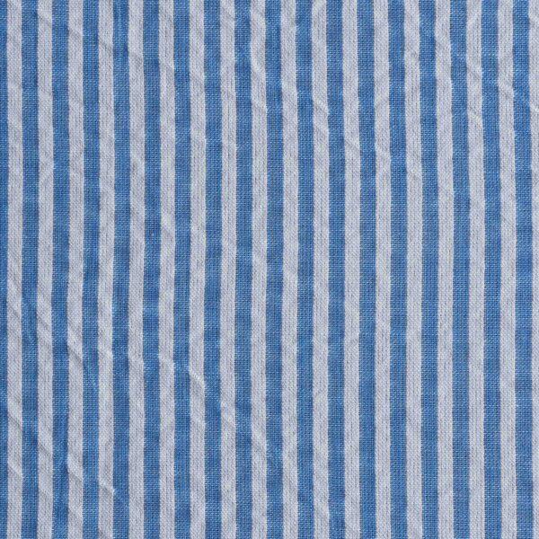 Cotton Seer Sucker Yarn Dyed Fabric
