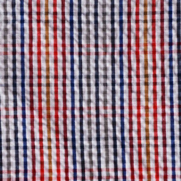 Yarn Dyed Multi Color Woven Fabric