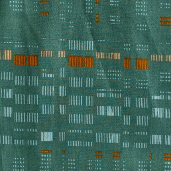 Lyocell Green Color Woven Fabric