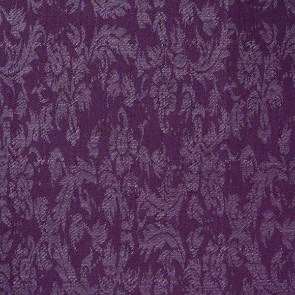 Cotton Poly Purple Color Jacquard Fabric